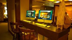 お客様用iMac