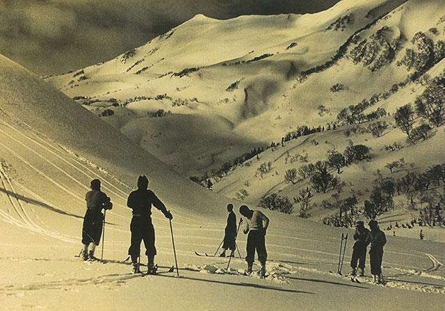 スキー場の過去写真