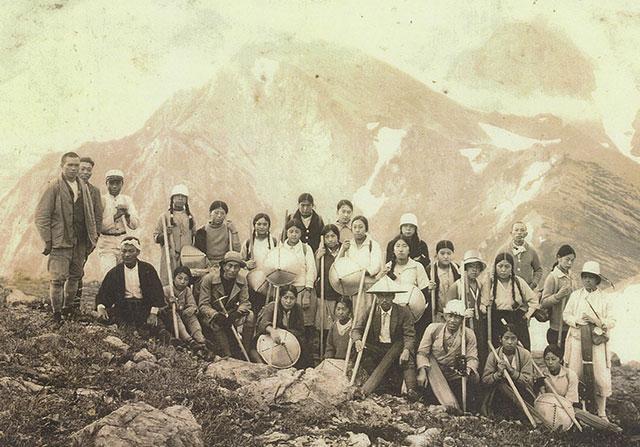 過去の登山集合写真