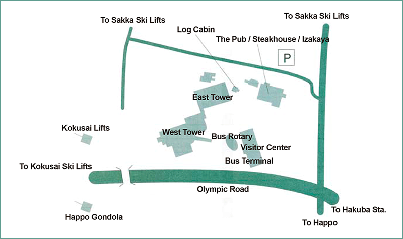 Mominoki Village構想(広域MAP)